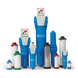 Filterelement ochh filterhus - Tryckluft, Vakuum